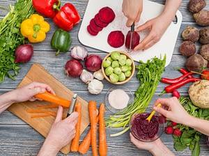 Lebensmittelkombinationen